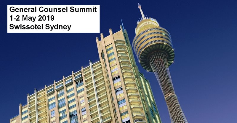 General Counsel Summit on 1-2 May