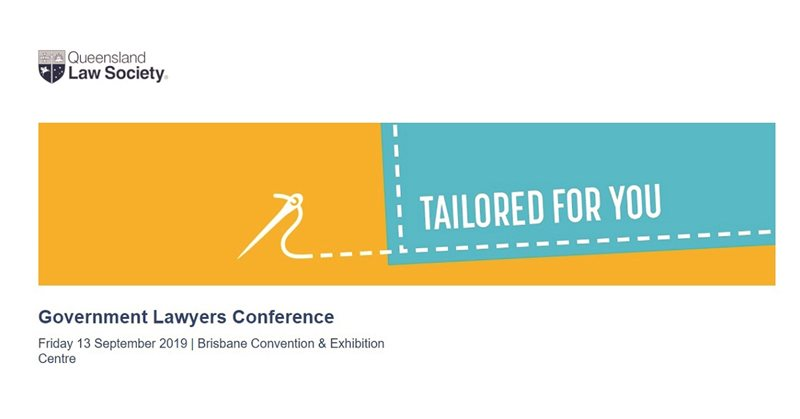 QLS Government Lawyers Conference – 13 September