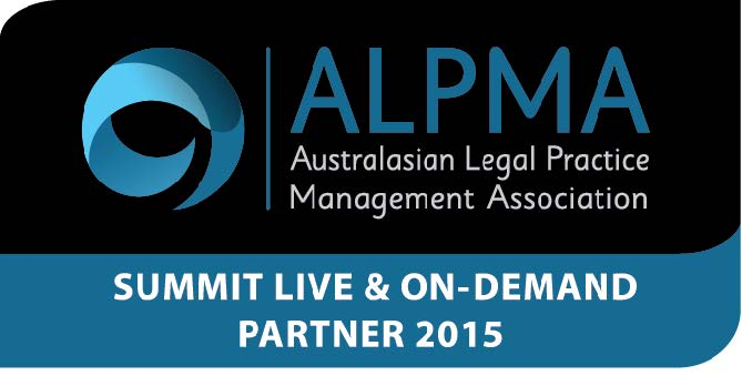 We are proud sponsors of the ALPMA Legal Management Summit 2015